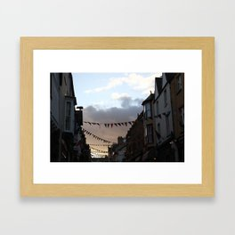 Sunset in Conwy Framed Art Print