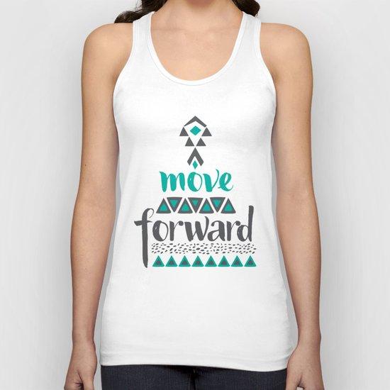 Move Forward Unisex Tank Top