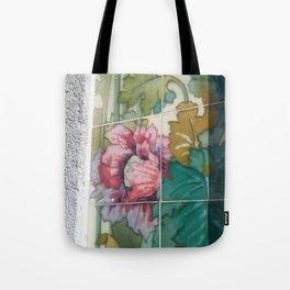 Porto Flower Tiles Tote Bag