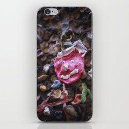 Mouth full of gum Bubblegum Alley iPhone Skin