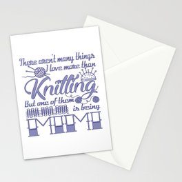 Knitting Mimi Stationery Cards