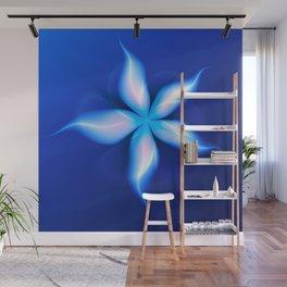 La Fleur Magique de la Sorcière Fractal Wall Mural