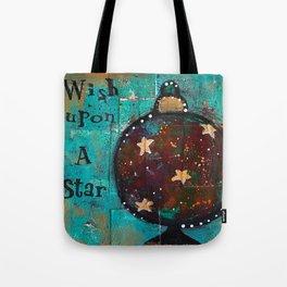 """Wish Upon A Star"" Original Painting by Krista J. Brock Tote Bag"