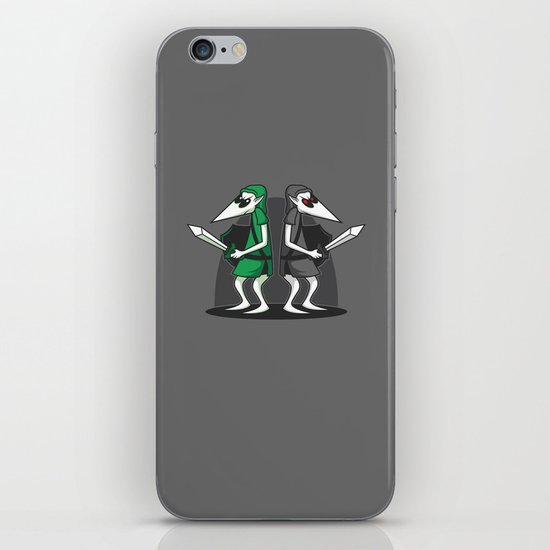 Link Vs Link iPhone & iPod Skin