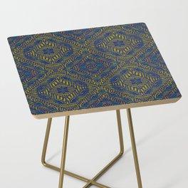 Tile Design Peacock Side Table