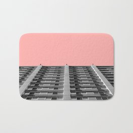 The sky was pink Bath Mat
