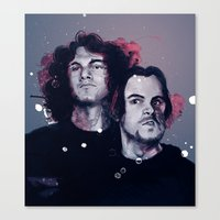 game grumps Canvas Prints featuring Game Grumps  by RootisTabootus
