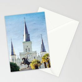 Jackson Square New Orleans Stationery Cards
