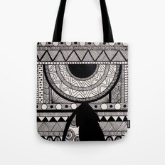 Doodling & Pattern  Tote Bag