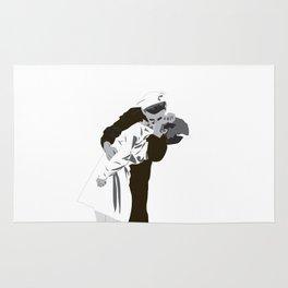 kissing the war goodbye 1945 Rug