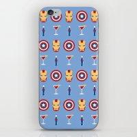 superheroes iPhone & iPod Skins featuring Superheroes by Kelslk