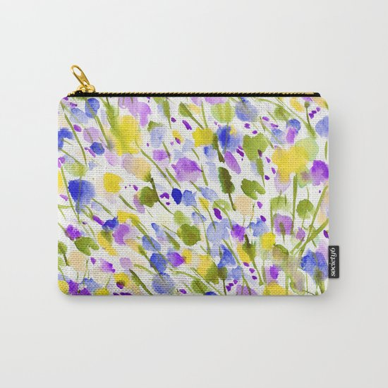 Wild Nature (Yellow and Blue) Carry-All Pouch
