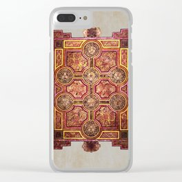 Book of Kells Carpet Page Clear iPhone Case