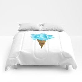 Ice Cream/Blue Comforters