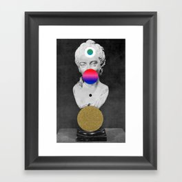 Orbit 20 Framed Art Print