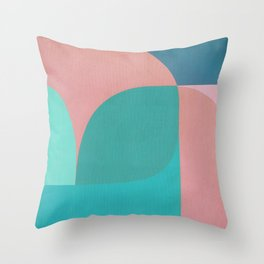 Shifting the Moon Throw Pillow