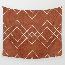 Nudo in Rust Wall Tapestry
