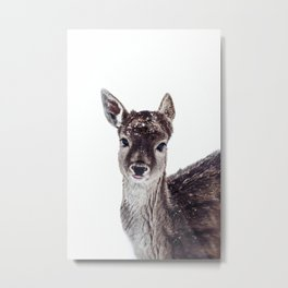 LITTLE FAWN FIONA Metal Print