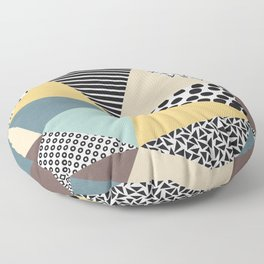 Abstract Geometry Floor Pillow