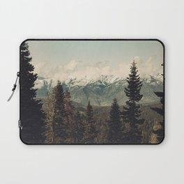 Snow capped Sierras Laptop Sleeve