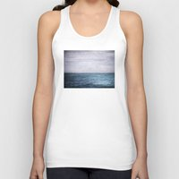 plain Tank Tops featuring Plain Sailing by V. Sanderson / Chickens in the Trees