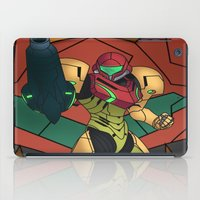 samus iPad Cases featuring Samus by Bradley Bailey