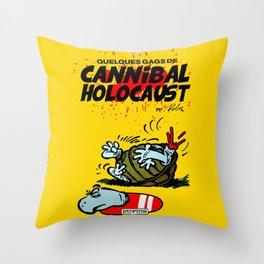 CANNIBAL HOLOCAUST BOULE ET BILL Throw Pillow