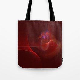 Burning Rose Tote Bag