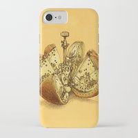 clockwork orange iPhone & iPod Cases featuring Steampunk Orange by Eric Fan
