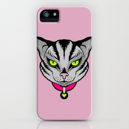 FELINE FATALE iPhone Case
