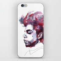prince iPhone & iPod Skins featuring Prince by Allison Kunath