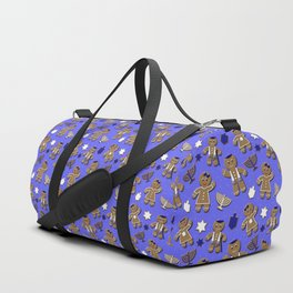 Hanukkah Gingerbread Duffle Bag