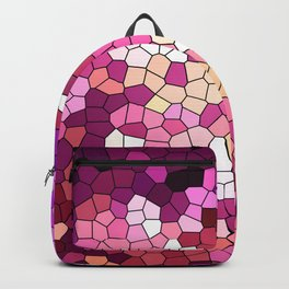 Purple rhapsody stained glas Backpack