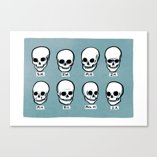 The Great Phrenologist Canvas Print