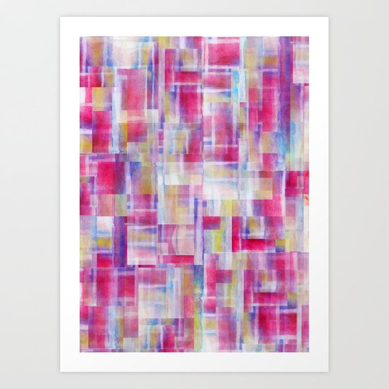 Separator (Skein I Remix) Art Print