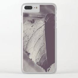 Bicolor heart Clear iPhone Case