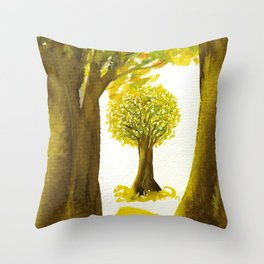 The Fortune Tree #5 Throw Pillow
