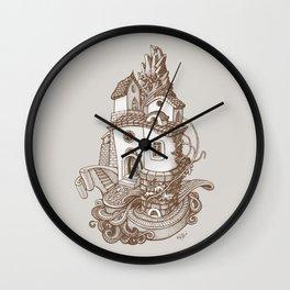 Crystal Mountain - 2 Wall Clock