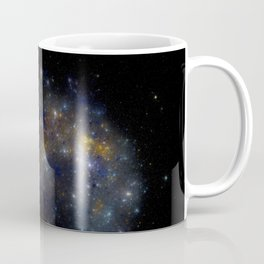 Star field background . Starry outer space background texture Coffee Mug