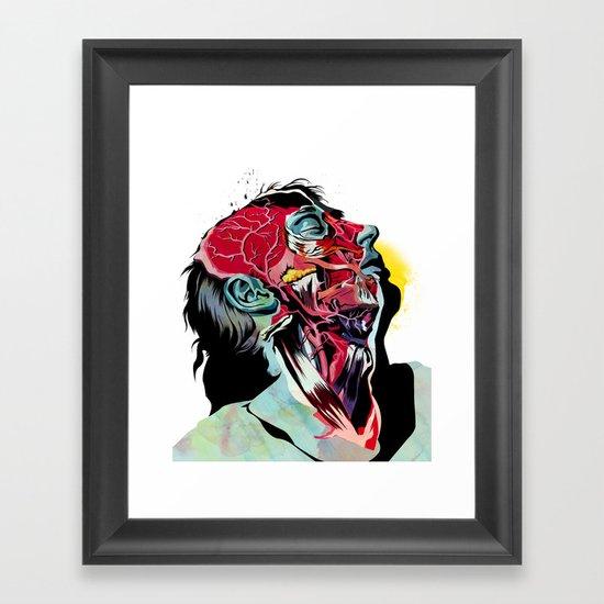 Anatomy Quain  Framed Art Print