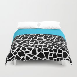 British Mosaic Electric Boarder Duvet Cover