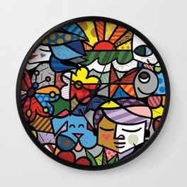 Bambam and Friends Wall Clock