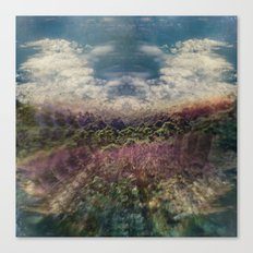 Forest Island Canvas Print