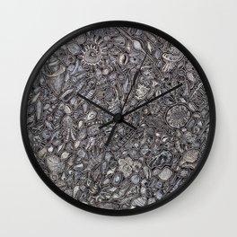 Sea shells Ocean decor Wall Clock