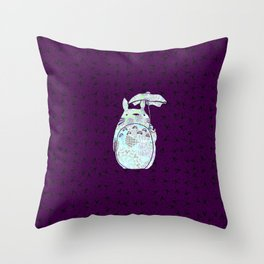 Mandala Strange Neighbor Throw Pillow