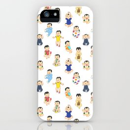 lots of babies! iPhone Case