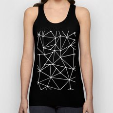 Ab Out Spots Grey Unisex Tank Top
