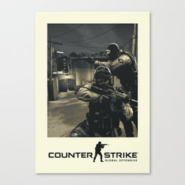 Counter-Strike Global Offensive Canvas Print