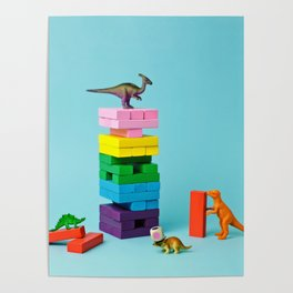 Dinosaur games Poster