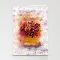 flora Stationery Cards featuring Flora  by Music of the Heart